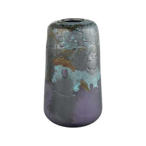 Diamond Home Blue Grotto Vase - Tall in Maven