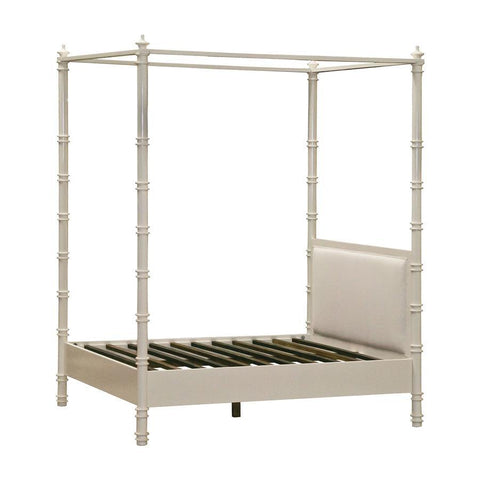 Diamond Home Forest Queen Canopy Bed in Cappuccino Foam
