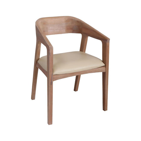 Diamond Home Innwood Light Mahogany Stain Solid Mahogany Dining Chair