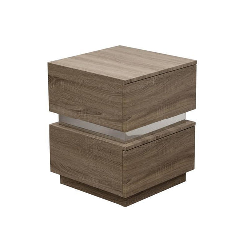 Diamond Sofa Elle 2 In Drawer Accent Table In Java