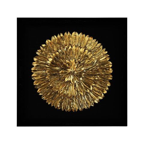 Dimond Home Gold Feather Spiral