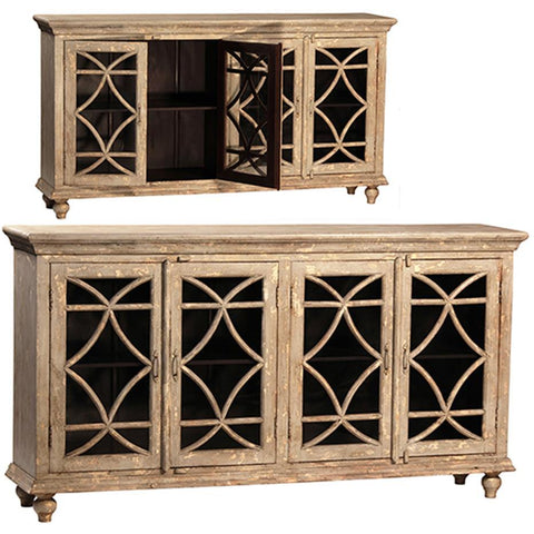 Dovetail Bacca Sideboard 4 Doors