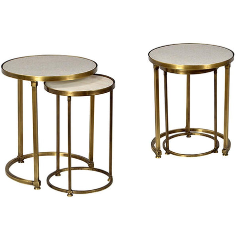 Dovetail Clifford Side table Set Of 2