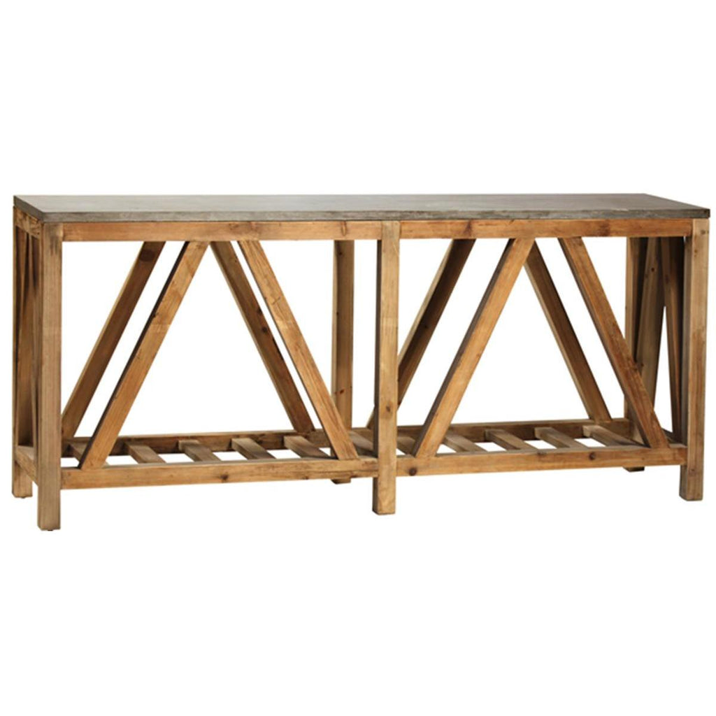 Dovetail Dagny Sofa Table Beyond Stores