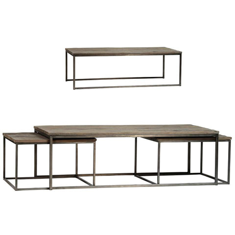 Dovetail Douglass Coffee Table Set Of 3