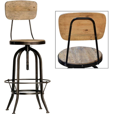 Dovetail Ford Barstool W/Back