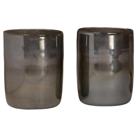 Dovetail Glass Vase (Set Of 2)