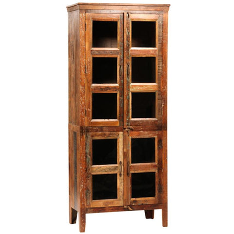 Dovetail Nantucket Glass Cabinet