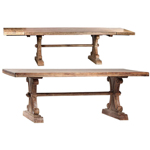 Dovetail Roma Dining Table With Extension