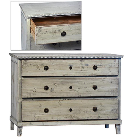 Dovetail Soren Dresser 3 Drawer