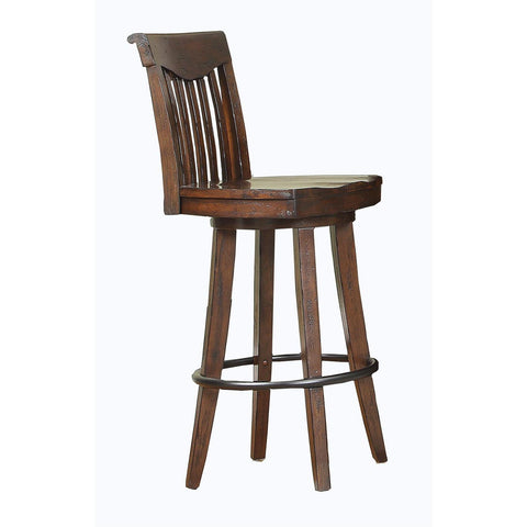 "ECI Furniture 30"" Barstool In Dark Distressed"