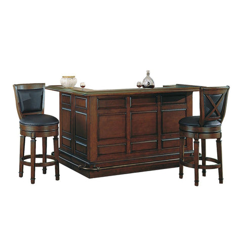 ECI Furniture Burnished Walnut Return Bar