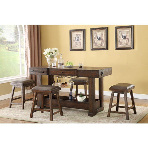 ECI Furniture Gettysburg Saddle Stool