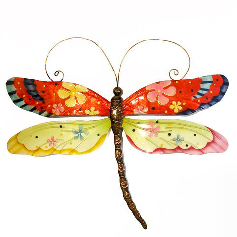 Eangee Dragonfly Wall Decor Flower Power