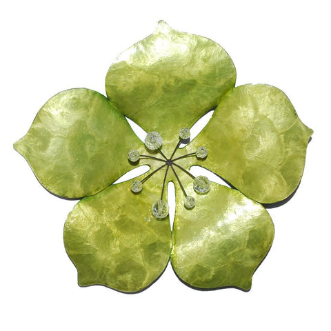 Eangee Flower Wall Decor Green