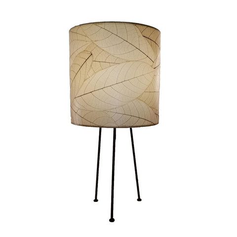 Eangee Metal Tripod Drum Table Lamp Natural