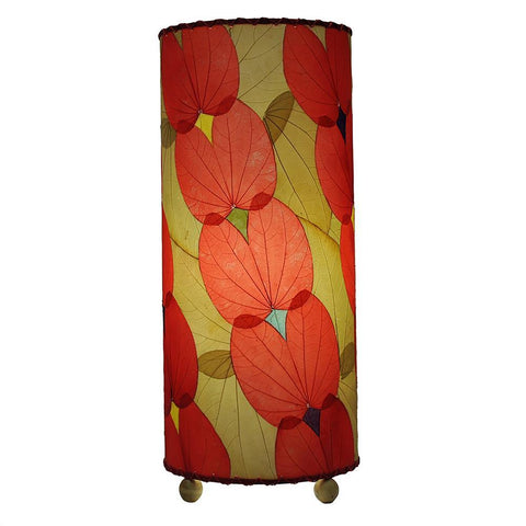 Eangee Outdoor Indoor Butterfly Table Lamp Red