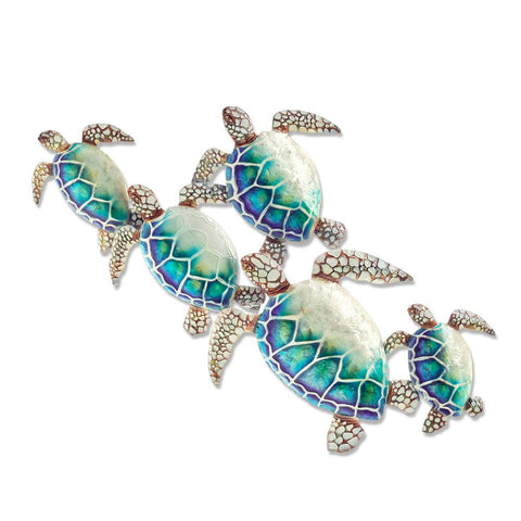 Eangee Sea Turtle Wall Decor Group Of Five