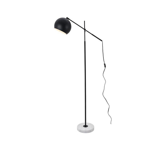Elegant Lighting Aperture 1 light Black Floor lamp