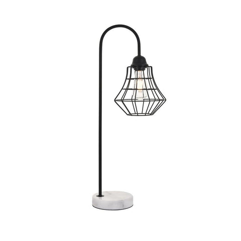 Elegant Lighting Candor 1 light Black Table lamp