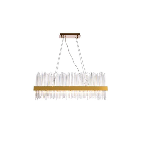 Elegant Lighting Dallas 20 light Gold Chandelier Clear Royal Cut Crystal