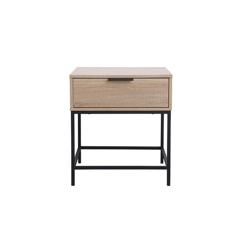 Elegant Lighting Emerson end table in mango wood
