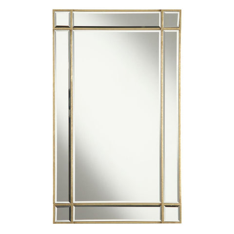 Elegant Lighting Florentine 22 in. Traditional Mirror in Gold leaf