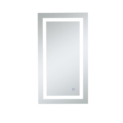 Elegant Lighting Helios 20in x 36in Hardwired LED mirror with touch sensor and color changing temperature 3000K/4200K/6400K
