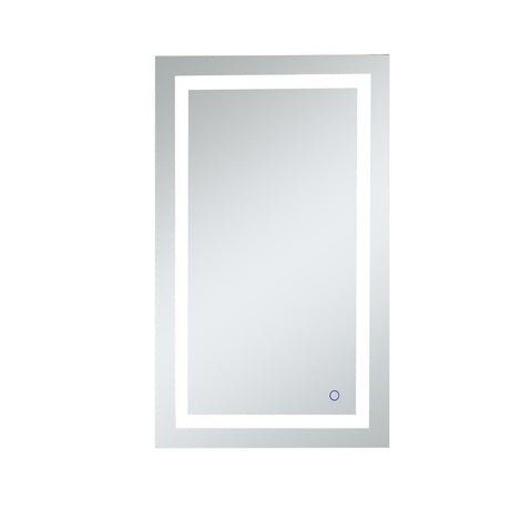 Elegant Lighting Helios 24in x 40in Hardwired LED mirror with touch sensor and color changing temperature 3000K/4200K/6400K