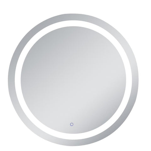 Elegant Lighting Helios 36 inch Hardwired LED mirror with touch sensor and color changing temperature 3000K/4200K/6400K