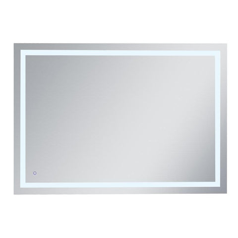 Elegant Lighting Helios 42in x 60in Hardwired LED mirror with touch sensor and color changing temperature 3000K/4200K/6400K
