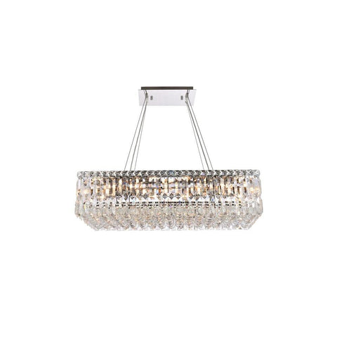 Elegant Lighting Maxime 16 light Chrome Chandelier Clear Royal Cut Crystal