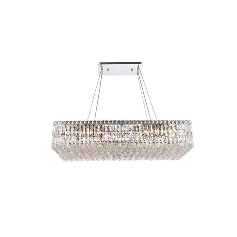 Elegant Lighting Maxime 16 light Chrome Chandelier Clear Spectra Swarovski Crystal