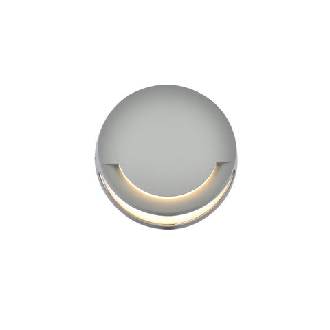 Elegant Lighting Raine Integrated LED wall sconce  in silver