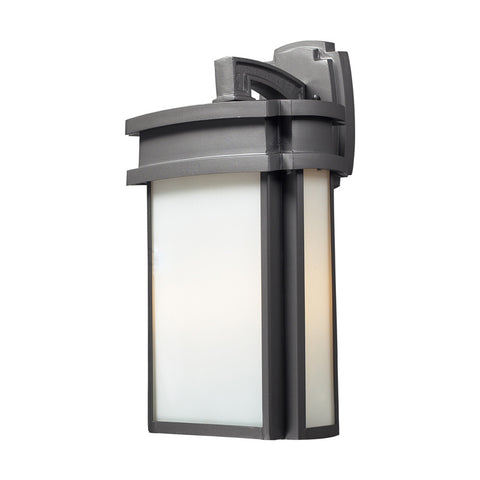 Elk Lighting 42342/2 2- Light Outdoor Sconce in Graphite