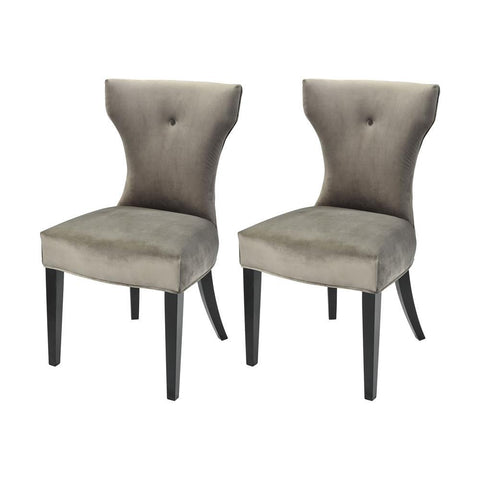 Elk Lighting Abigail Dining Chair in Grey - STEINWORLD