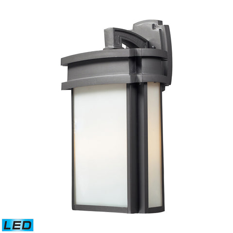 Elk Lighting Sedona 2- Light Outdoor Sconce in Graphite