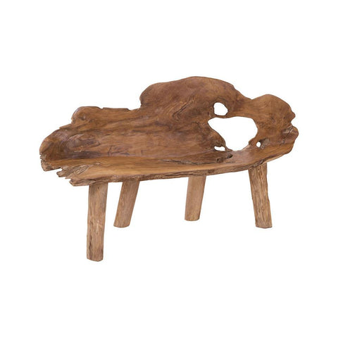 Elk Lighting TEAK TRUNK BENCH