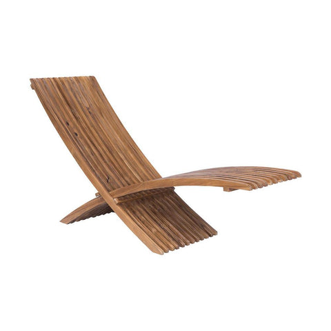 Elk Lighting Teak Folding Lounge Chair