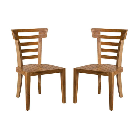 Elk Lighting Teak Patio Morning Chair (Set of 2)