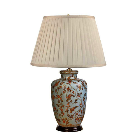 Elstead Lighting Gold Birds & Berries Table Lamp