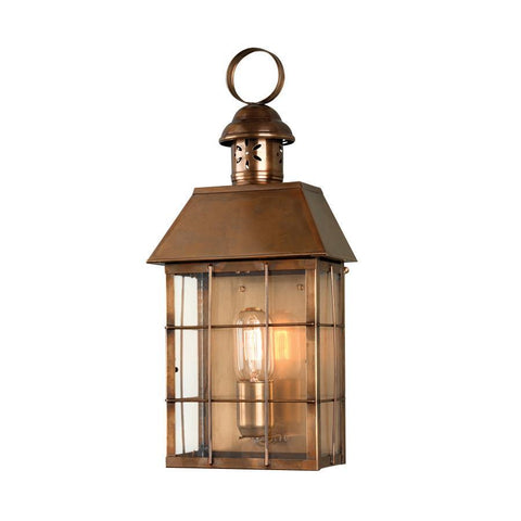 Elstead Lighting Hyde Park Brass Wall Lantern