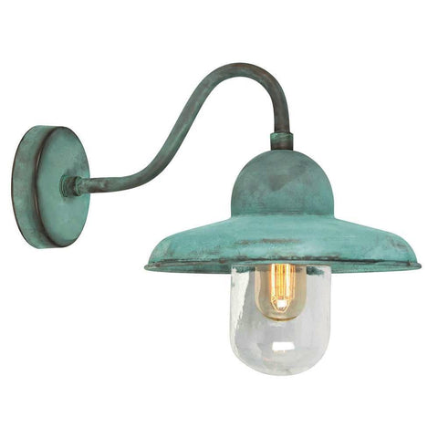 Elstead Lighting Somerton Verdigris Wall Lantern