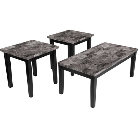 Flash Furniture Signature Design By Ashley Maysville 3 Piece Occasional Table Set