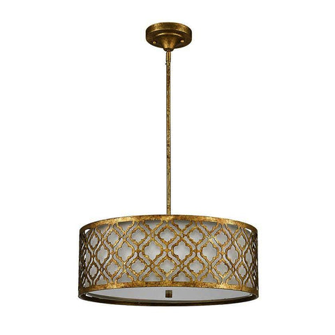 Gilded Nola GN/ARABELLA/P/L Arabella Large Pendant convertible to Semi Flush