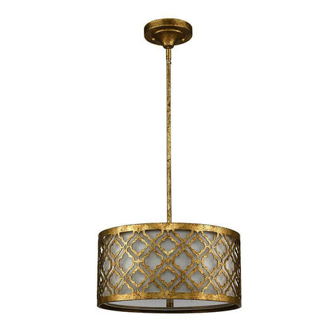 Gilded Nola GN/Arabella/P/M Arabella Medium Pendant convertible Semi Flush
