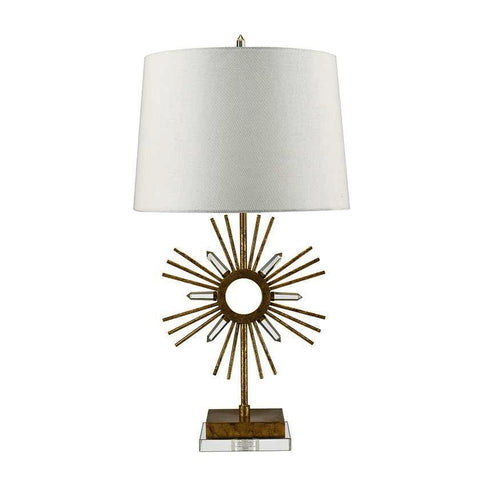 Gilded Nola TLM-1009 Sun King Table Lamp