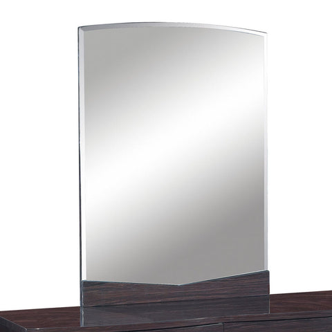 Global USA Aurora Beveled Mirror in Wenge