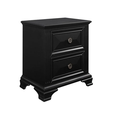 Global Furniture Carter Nightstand in Black