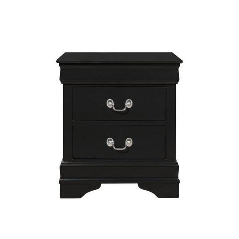 Global Furniture Marley Black Nightstand